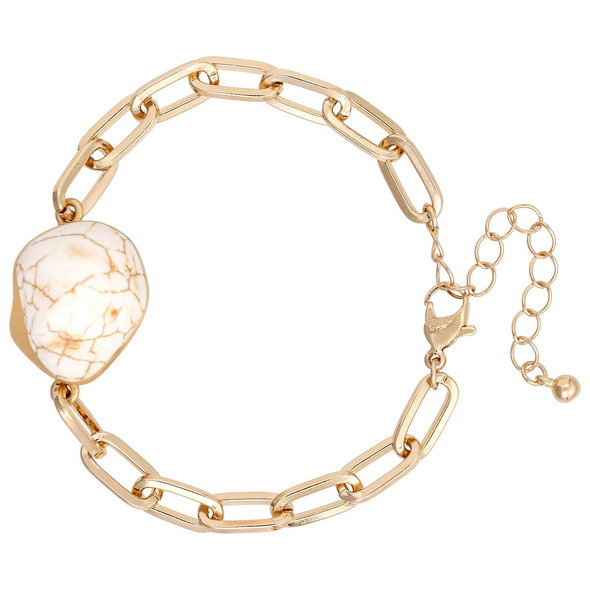 Armband - Golden Marble