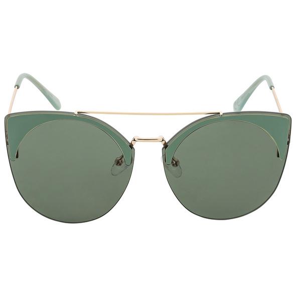 Sonnenbrille - Green Cat Eye