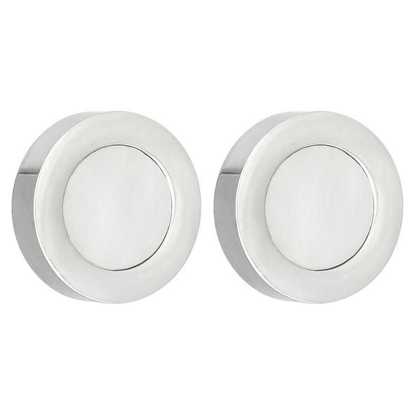 Ohrstecker - Modern White