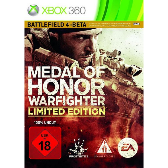 Electronic Arts Medal of Honor Warfighter (100% UNCUT)