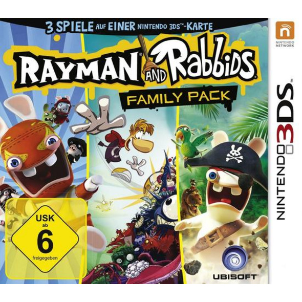 Rayman & Rabbids Family Pack