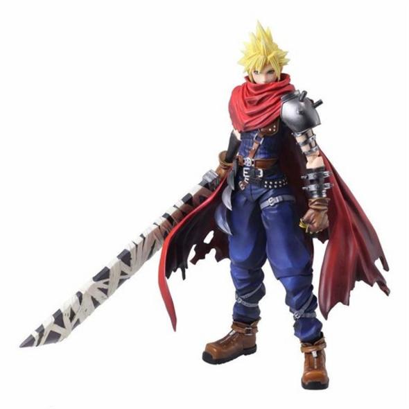 Final Fantasy VII - Figur Cloud Strife Another Form Ver.
