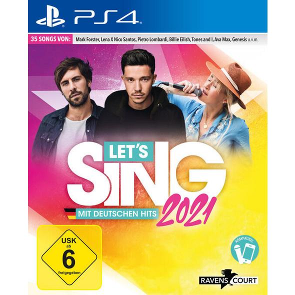 Let`s Sing 2021 mit deutschen Hits