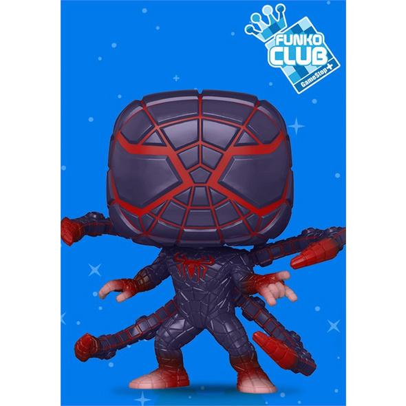 Spider-Man - POP!-Vinyl Figur Miles Morales (Funko Club exklusiv!)