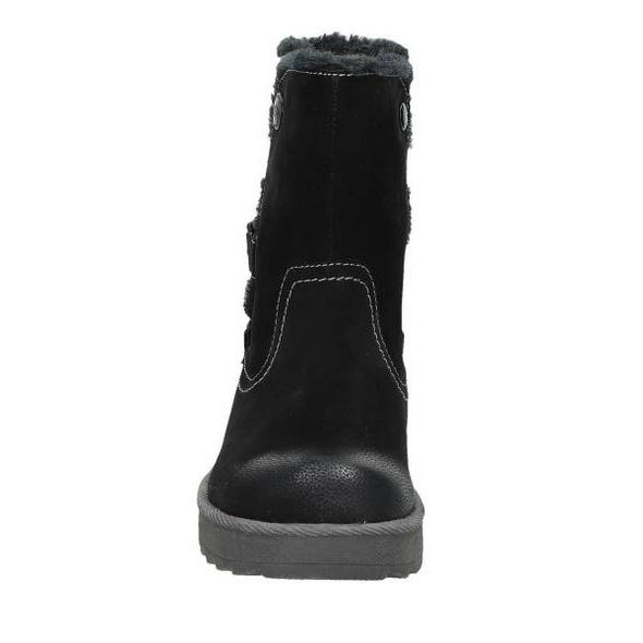 Winter Boot in Lederoptik