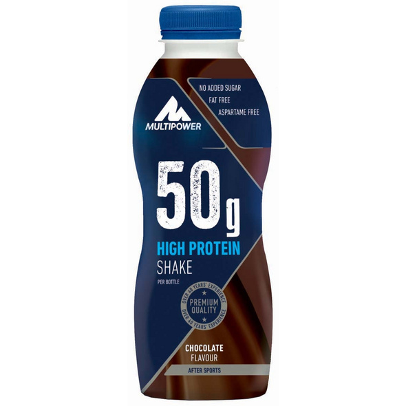 Multipower Protein Shake 50g - 500ml-Strawberry