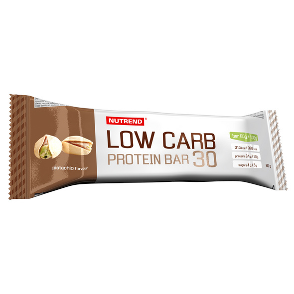 Nutrend Low Carb Protein Bar 30 80g-Chocolate