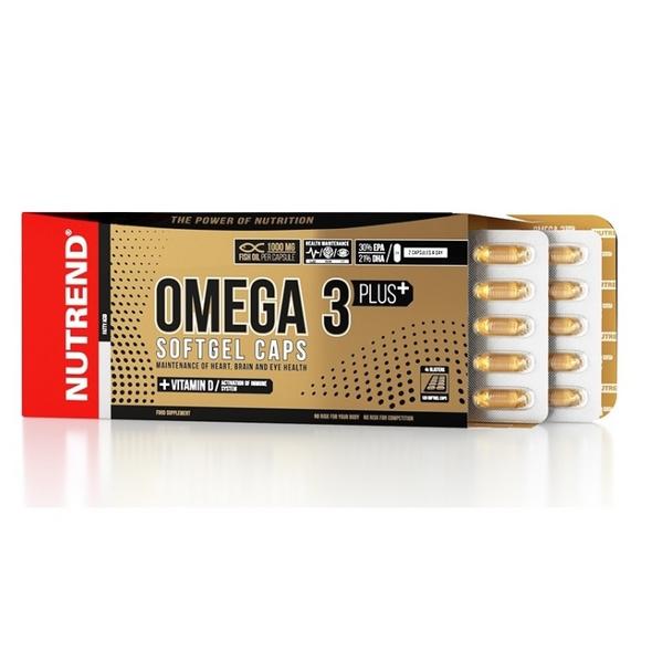 Nutrend Omega 3 Plus 120 Kapseln