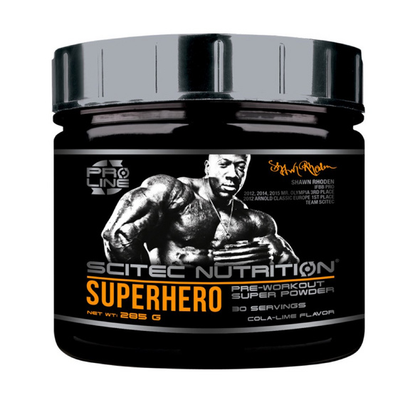 Scitec Nutrition Superhero Pre-Workout 285g-Mango Lime