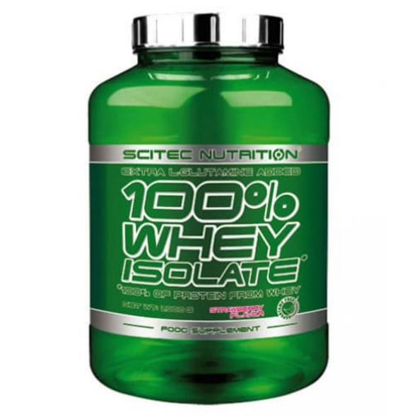 Scitec Nutrition 100% Whey Isolate 2000g-Beere-Vanille