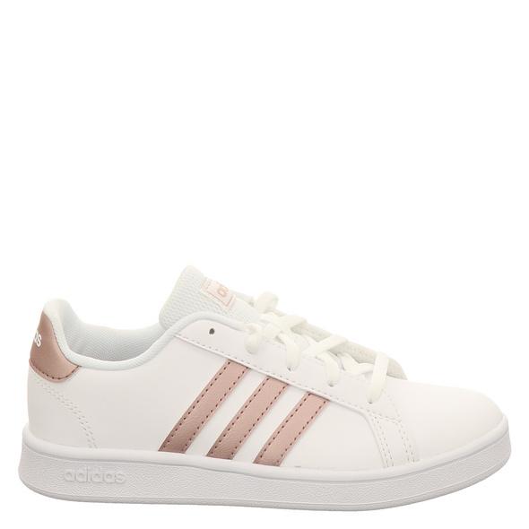 Adidas Grant Court K Halbschuhe weiß Mädchen