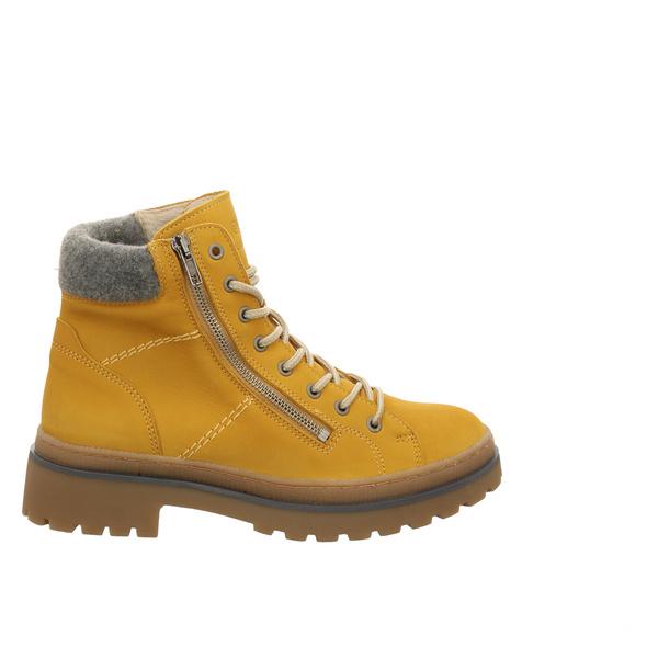 Schuhengel Stiefel Kurz gelb Damen