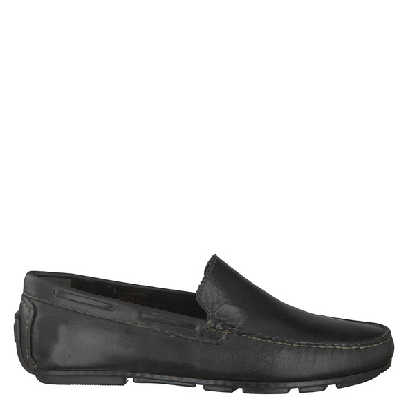 Van Der Laan Miami Slipper - Elegant schwarz Herren