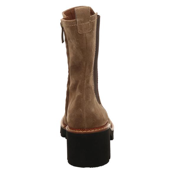 Paul Green 0069-9908-039/chelsea-stiefele Stiefel Kurz beige Damen