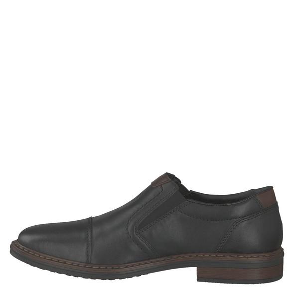 Rieker (gr. 45) Slipper - Elegant schwarz Herren