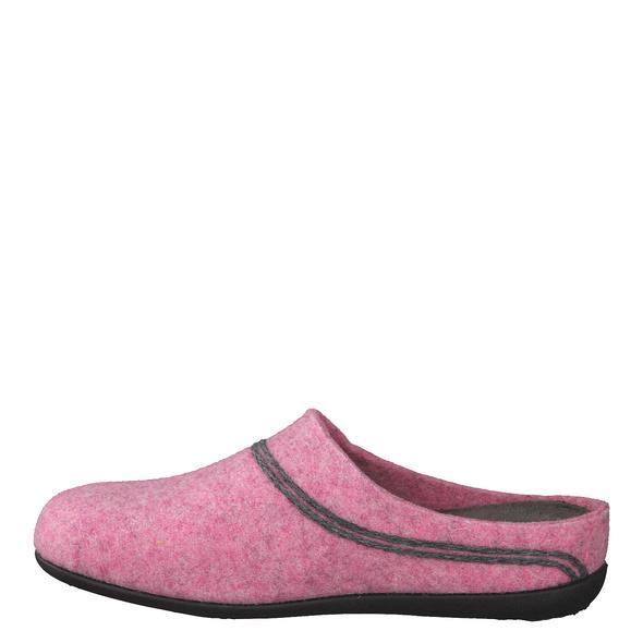 Hermetic Rot (gr. 36) Hausschuhe rosé Damen