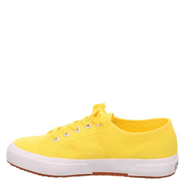Superga Cotmetw Leinenschuhe gelb Damen
