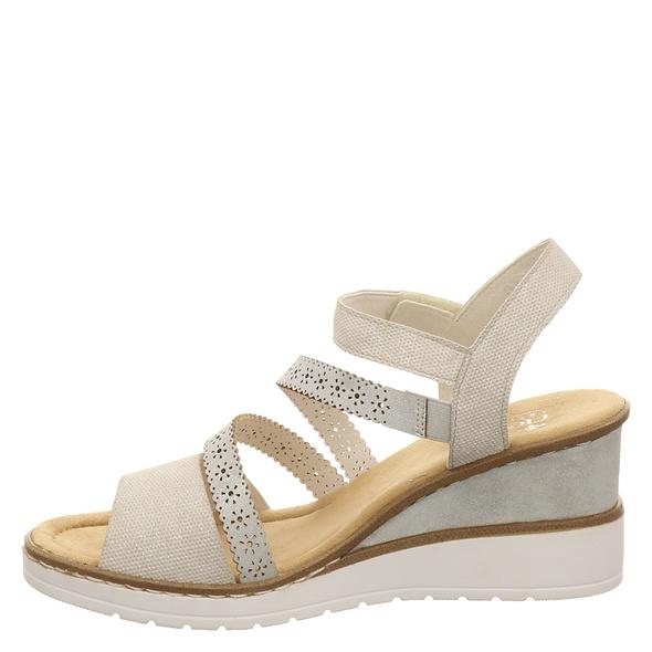 Rieker (gr. 38) Sandaletten beige Damen