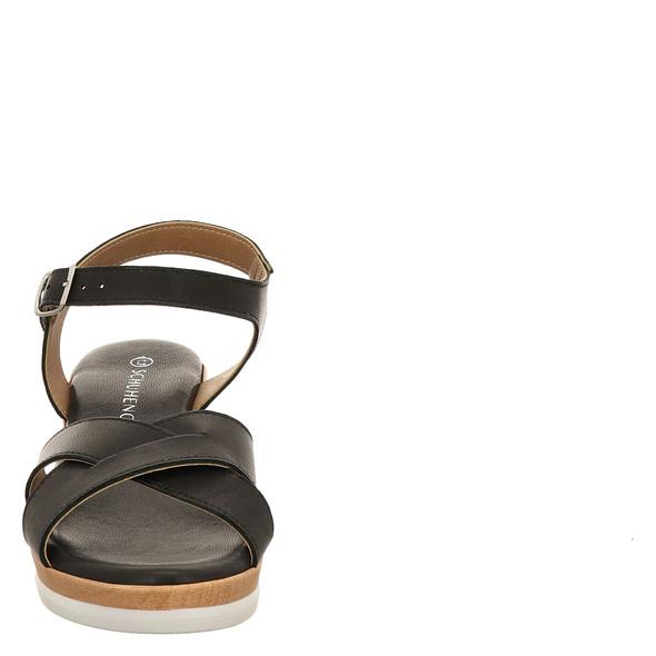 Schuhengel (gr. 37) Sandaletten schwarz Damen
