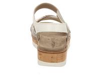 Van Der Laan Sandaletten grau Damen