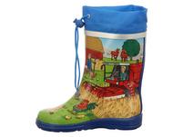 Beck Bauernhof Regenstiefel Jungen mehrfarbig Jungen