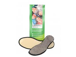 hochwertiges, seidig-weiches Lammfell sorgt bei kalter, winterlicher Witterung für warme Füße, mit rutschfester Texon Rückseite