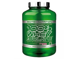 Scitec Nutrition 100% Whey Isolate 2000g-Schokolade Haselnuss