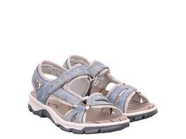 Rieker (gr. 37) Sandaletten blau Damen