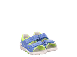 Superfit (gr. 24) Sandalen blau Mädchen