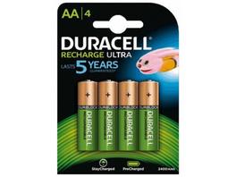 Duracell Akku Mignon HR6 2.500mAh 4er-Pack
